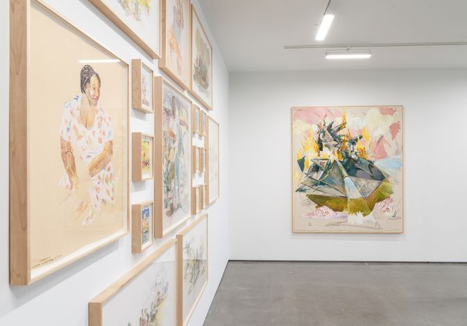 Exhibition view: Joseph Olisaemeka Wilson, Olisaemeka, Simchowitz, Los Angeles (15 May–5 June 2021). Courtesy Simchowitz.