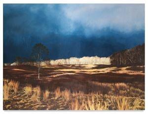 Field by April Gornik contemporary artwork