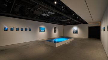Contemporary art exhibition, Naoya Inose, Vacation on the Blue at The Club, Tokyo, Japan