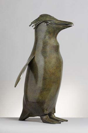 Royal Penguin by Daniel Daviau contemporary artwork sculpture