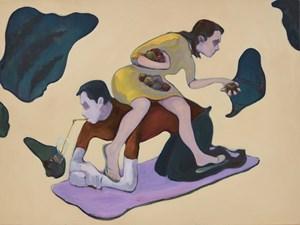Eva Wang and Peter Zhang by Li Ran contemporary artwork