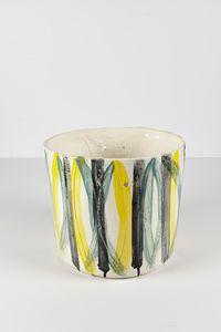 Untitled Large Planter 21 by Rashid Johnson contemporary artwork ceramics