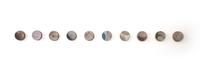 Terrain Circles by Jon Pettyjohn contemporary artwork ceramics