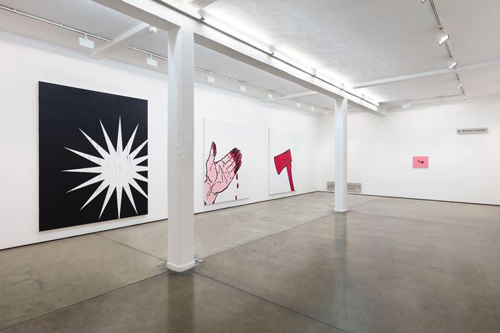 Exhibition view: Gardar Eide Einarsson, Maureen Paley, London (6 April–26 May 2019). © Gardar Eide Einarsson. Courtesy Maureen Paley, London.