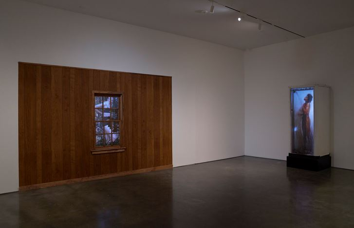 Exhibition view: Robert Whitman, Robert Whitman: 61, Pace Gallery, 510 West 25th Street, New York (26 October–21 December 2018). © Robert Whitman. Courtesy Pace Gallery. Photo: Tom Barratt.