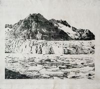 Maerlejen lake by Douglas Mandry contemporary artwork print