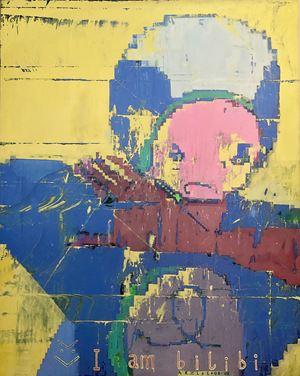 I AM BILIBI by Arx Lee contemporary artwork