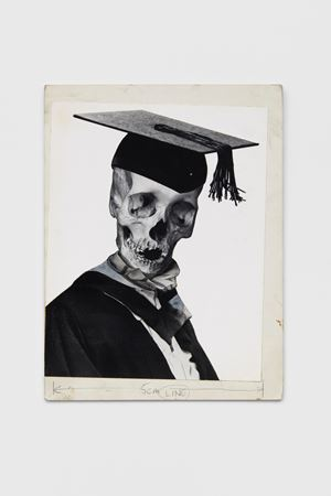 Education cuts by Peter Kennard contemporary artwork