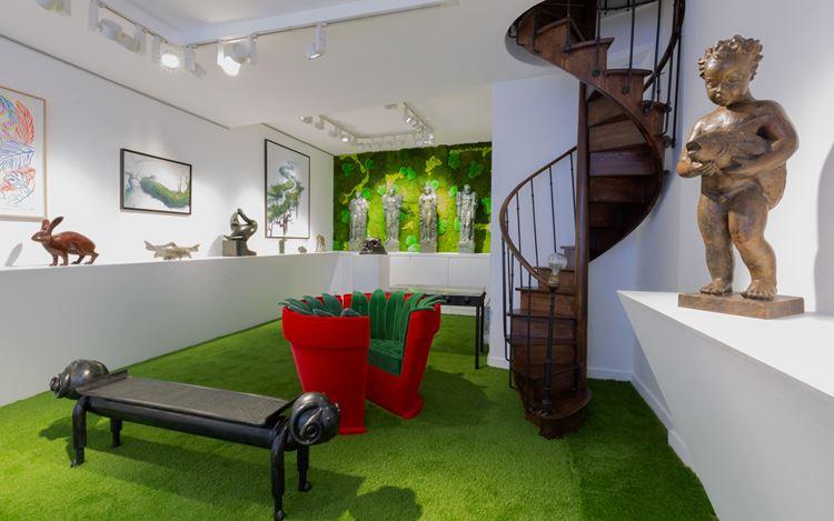 Exhibition view: Group Exhibition,Jardin d'Eden,Galerie Dumonteil, Paris (20 June–1 August 2020). CourtesyGalerie Dumonteil. Photo: © Nikolai-Saoulski.