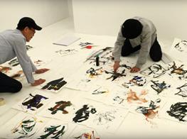 "Sadaharu Horio Performance ""Manipulating the Air"""