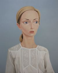 Lani Leary, 1982 (Estelle) by Peter Stichbury contemporary artwork painting