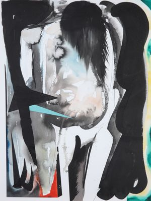 Slow Love by David Lehmann contemporary artwork painting, works on paper, drawing