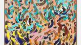 Contemporary art exhibition, Elisabeth Frieberg, Pink Blue Gold Indian Ocean at Andréhn-Schiptjenko, Paris, France