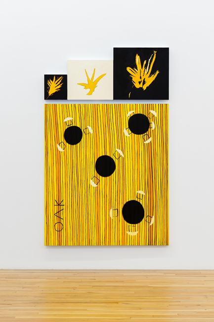 OAK - Restaurant Mandala by Kim Dingle contemporary artwork