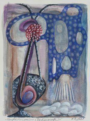 Oberflächenwasser (Totalreservate) by Hartmut Neumann contemporary artwork