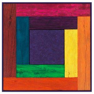 Untitled (Tree Painting, Full Spectrum/Purple) by Douglas Melini contemporary artwork