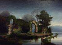 The Garden Wanderer by Alexander McKenzie contemporary artwork painting