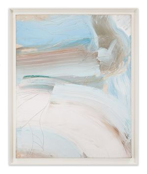 Soft Blue by Ed Clark contemporary artwork