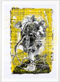 Ohne Titel by Christian Eisenberger contemporary artwork painting, works on paper