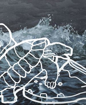 The threshold by Abdul Abdullah contemporary artwork