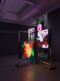 Power Plants by Hito Steyerl contemporary artwork installation