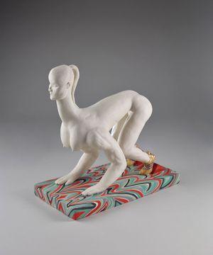 Flight by Shary Boyle contemporary artwork sculpture