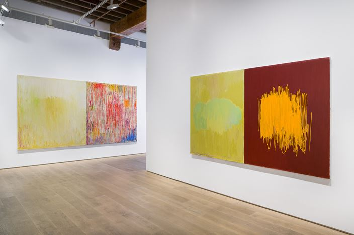 Exhibition view: Christopher Le Brun, Diptychs, Lisson Gallery, Shanghai (6 November 2019–28 March 2020). © Christopher Le Brun. Courtesy Lisson Gallery.