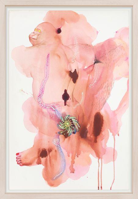 Human Beast Ghost by Wang Haiyang contemporary artwork