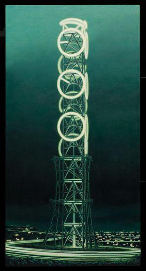 Skyglow-V2 by Minoru Nomata contemporary artwork
