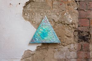 Mineral Signal 3 by Lisa Alvarado contemporary artwork painting, mixed media
