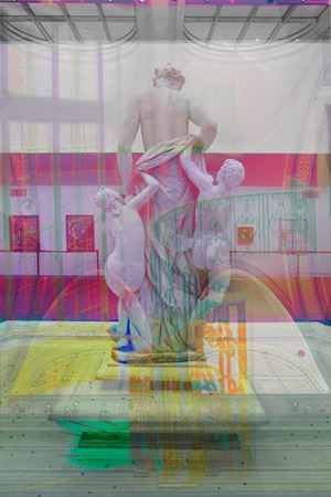 Avery Court by James Welling contemporary artwork