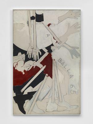 A la Balla (65) by Mario Schifano contemporary artwork print