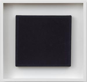 BLACK DIAMOND XIV by Bob Law contemporary artwork
