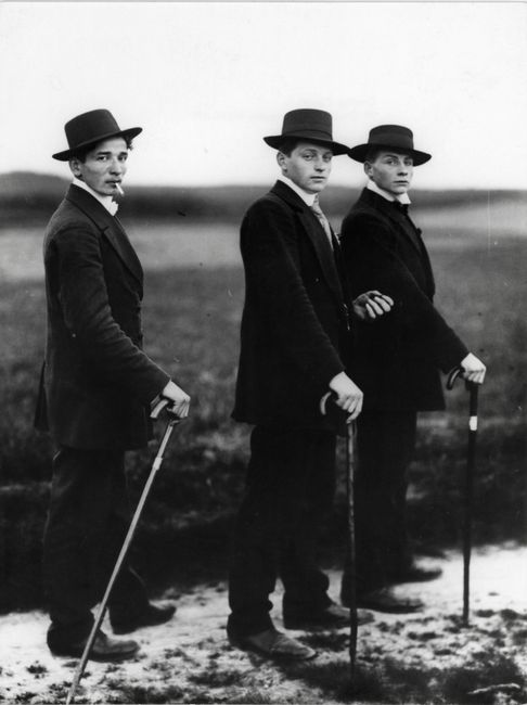 Jungbauern (Young farmers), Westerwald by August Sander contemporary artwork