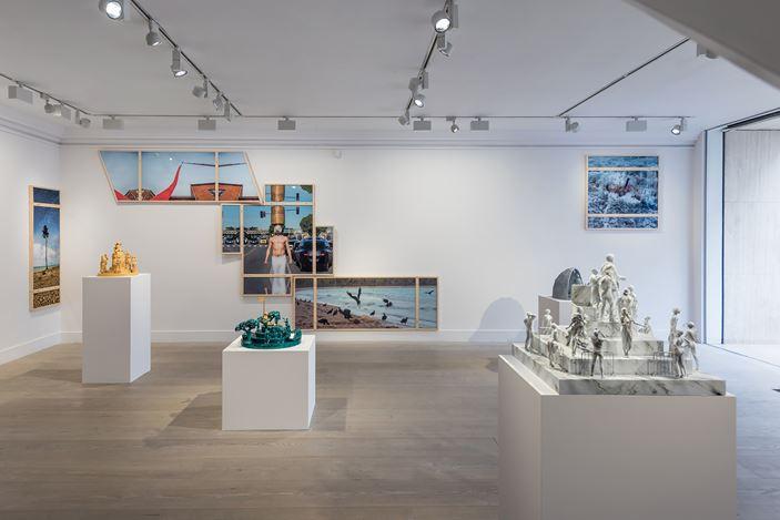 Exhibition view: Fyodor Pavlov-Andreevich, Decorative Sacredness, Gazelli Art House, London (24 May–29 June 2019). Courtesy Gazelli Art House and Deniz Guzel.