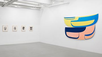 Contemporary art exhibition, Joanna Pousette-Dart, Joanna Pousette-Dart at Lisson Gallery, 10th Avenue, New York