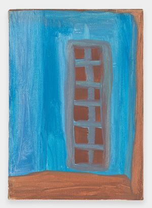 Untitled (Window) by Ficre Ghebreyesus contemporary artwork