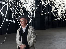 Stockhausen, Duchamp, and exit signs – an interview with Cerith Wyn Evans