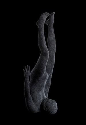 Yomi#4(Black Sic_VESSEL) by Kohei Nawa contemporary artwork