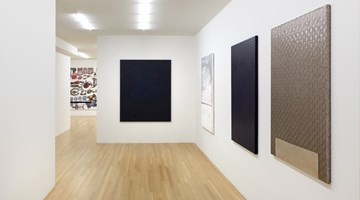 Contemporary art exhibition, Sergej Jensen, Fabric Paintings at Galerie Buchholz, New York