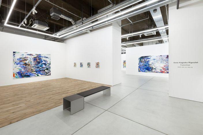 Exhibition view: Anne Kagioka Rigoulet,TransitionMAKI Tennoz Tokyo, May 22 - June 23. All images: Courtesy of MAKI