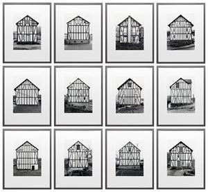 Framework Houses by Bernd & Hilla Becher contemporary artwork