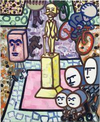 Sch-D-Platz by Marcus Weber contemporary artwork painting