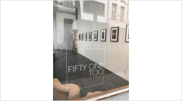 Contemporary art exhibition, Saul Leiter, LANESVILLE at Gallery Fifty One Too, Antwerp