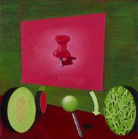 Dropped pin, Waiwiri by Huhana Smith contemporary artwork painting