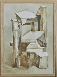Crooked House No.150805 by Chen Yujun contemporary artwork painting