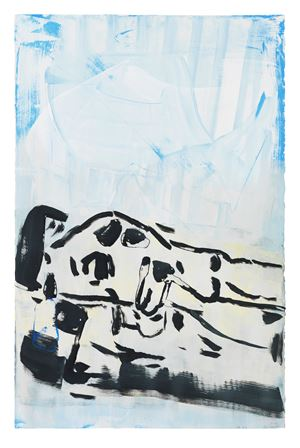 SK2 by Amy Sillman contemporary artwork