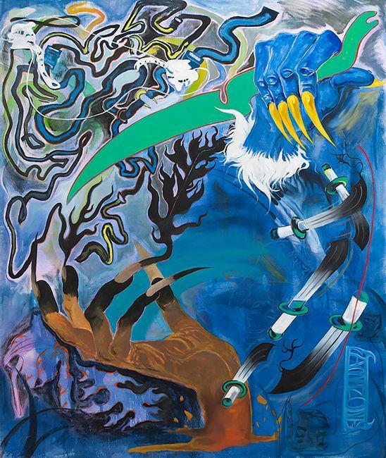 Amazones hands by Kaito Itsuki contemporary artwork