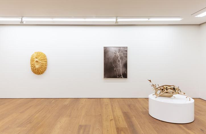 Exhibition view: group exhibition at Perrotin, Hong Kong (21 July–8 September 2018). © ADAGP, Paris & SACK, Seoul 2018. Courtesy Perrotin, Hong Kong.