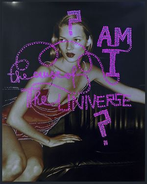 Am I the cause of the Universe by Daniele Buetti contemporary artwork